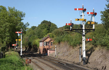 Bewdley south Box and signals taken on t