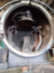 1450 smokebox showing the two new large