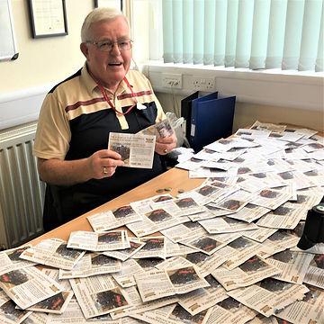 Horace with cash envelopes Sept 2019.jpg