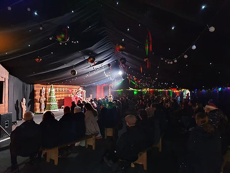 Christmas at Arley 5th December 2020. He