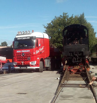 30541 about to be offloaded down the ram