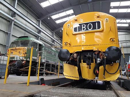 37190 in Kidderminster TMD undergoing a