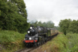 75069 departing Hampton Loade with the f