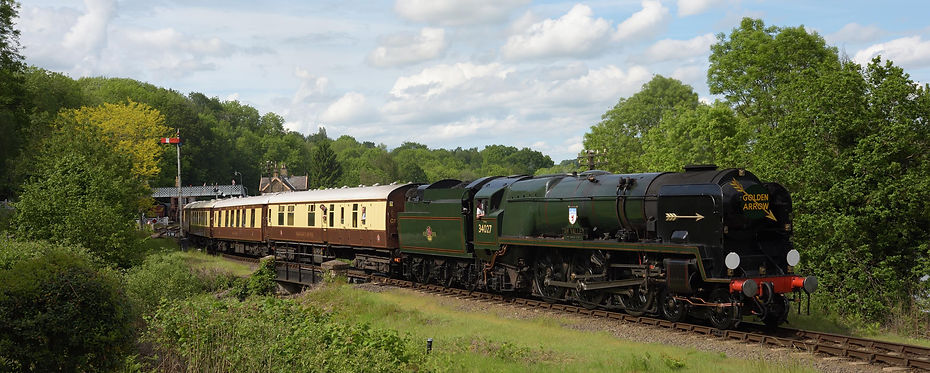5th June 2021 - 34027 Taw Valley heads t