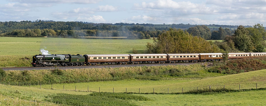 34027 Taw Valley on Eardington Bank with