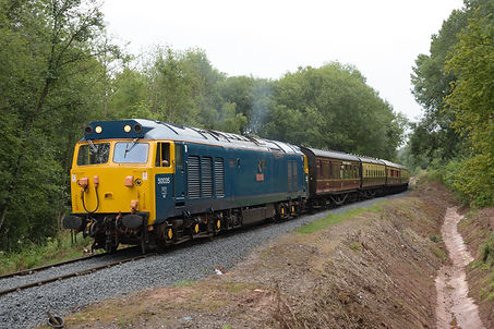 50035 at Sterns on the 27th Aug 2020 on
