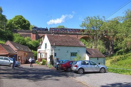 1501 passes Daniel's Mill June 2021. Joh