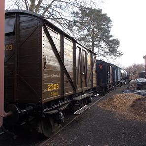 Wagons at Arley 2.1.20