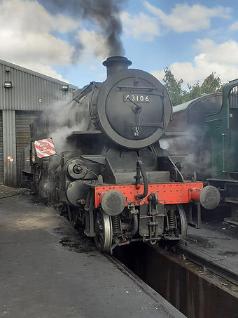 43106 is in steam again c Martin White (