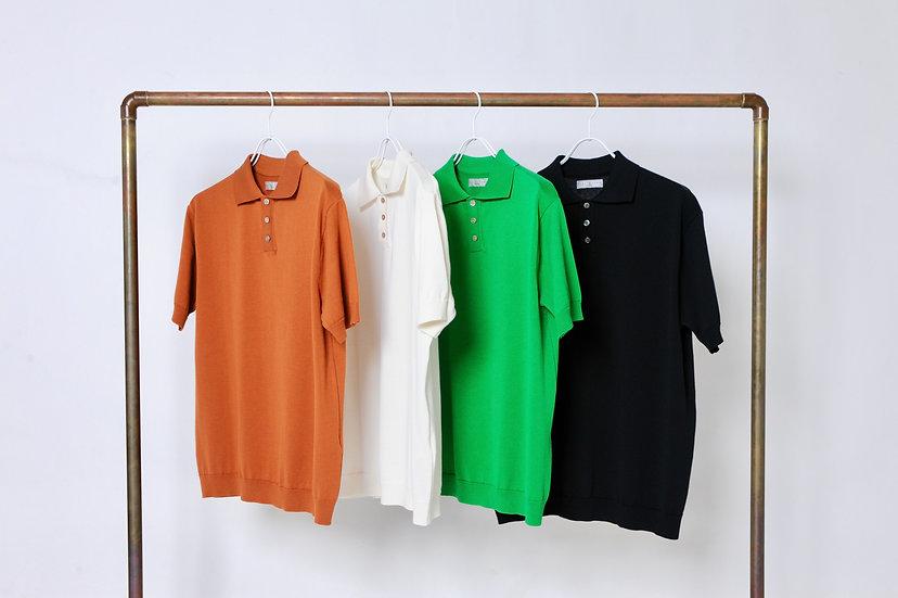 KESTIN HARE/KNT20SS-01/knit polo
