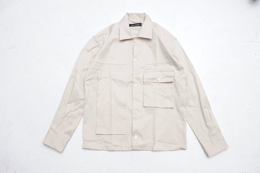 ecole de pensee/Cotton Work Shirt
