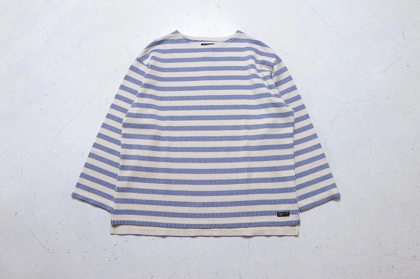 COLIMBO/ZV-0409/フレンチボーダーボートネックシャツ