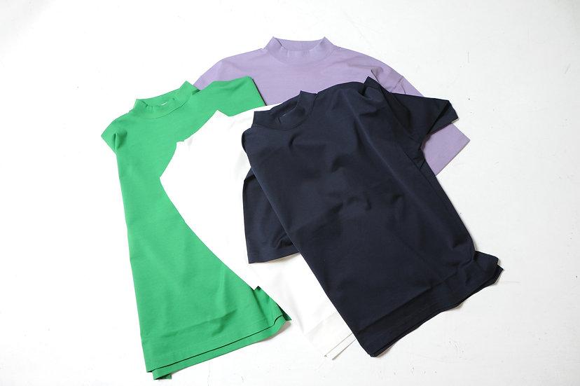 UNITUS/UTSSS20-CS02/Mock Neck T shirt
