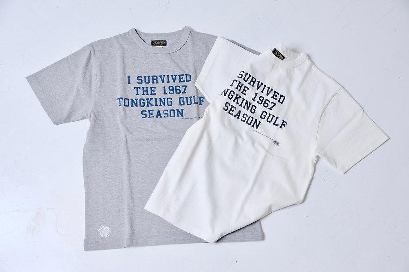 COLIMBO/ZU-0413/TONGKING GULFプリントTEEシャツ