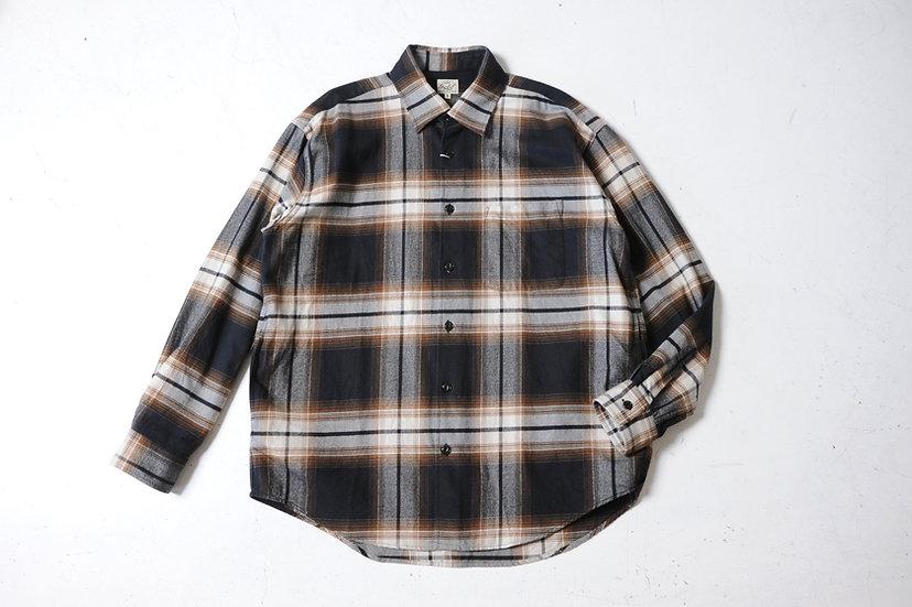 GOLD/GL28483/ネルチェックビックシャツ