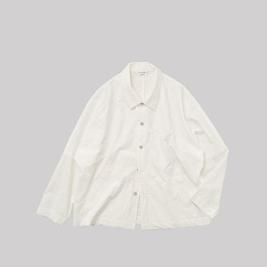 STILL BY HAND/JK01212/タイプライターシャツジャケット