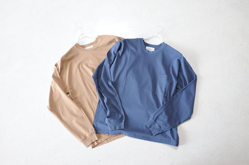STILL BY HAND/CS04203/Long Sleeve Pocket T-Shirts