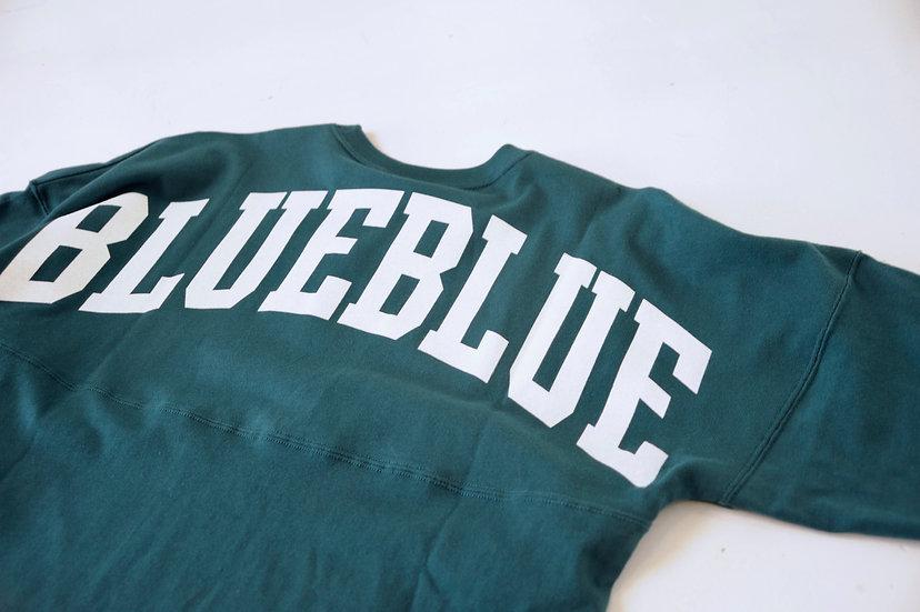 RUSSELL・BLUE BLUE/700076239/ビッグロゴ フットボールTシャツ