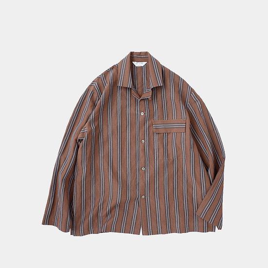 STILL BY HAND/BL03211/オープンカラーシャツジャケット