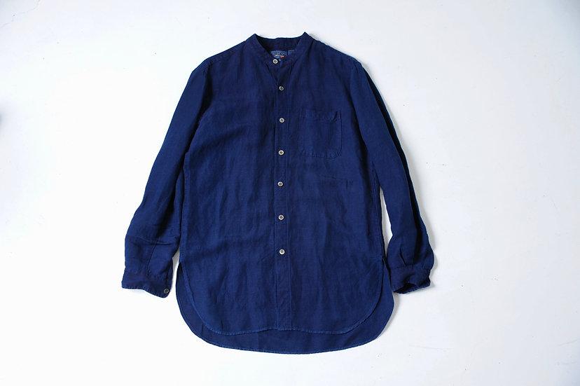 blue blue Japan /7000076512/バンドカラーシャツ