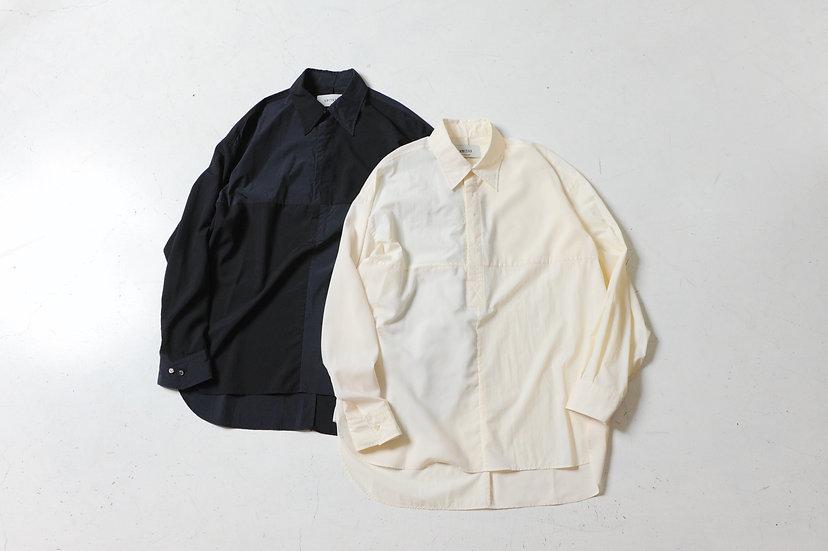 UNITUS/UTSSS21-S08/Paneled Darby Shirt