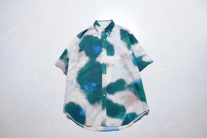 UNITUS/UTSSS21-S06/Super Large Half Sleeve Shirt