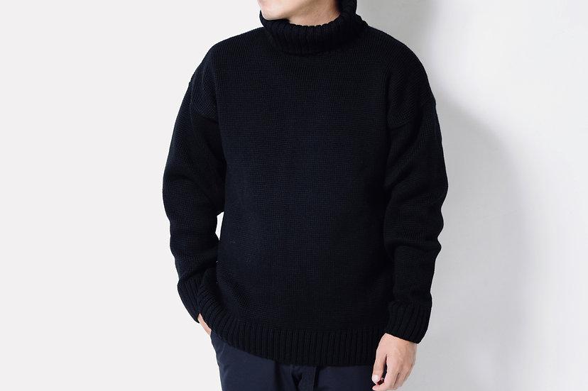 ecole de pensee/ウールタートルネックセーター