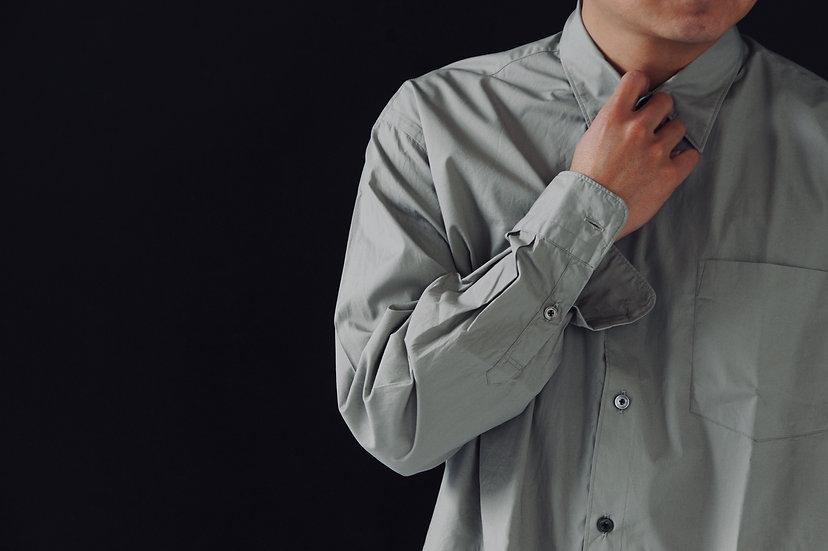 FUJITO/WF1-S24/ブロードビックシルエットシャツ