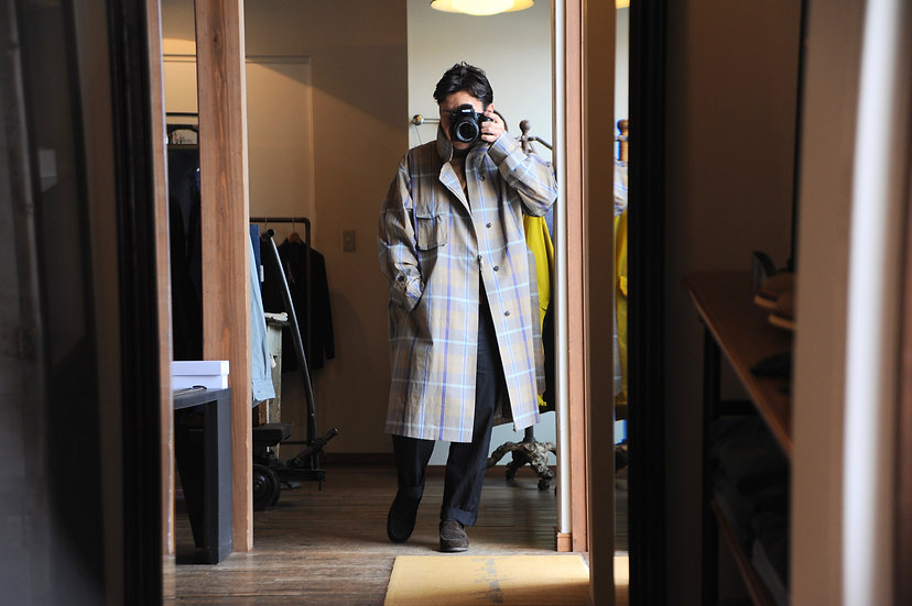 UNITUS/UTSSS20-J02/Medical Gawn Coat (Plaid Check)
