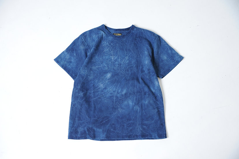 COLIMBO/ZU-0415/インディゴTEEシャツ