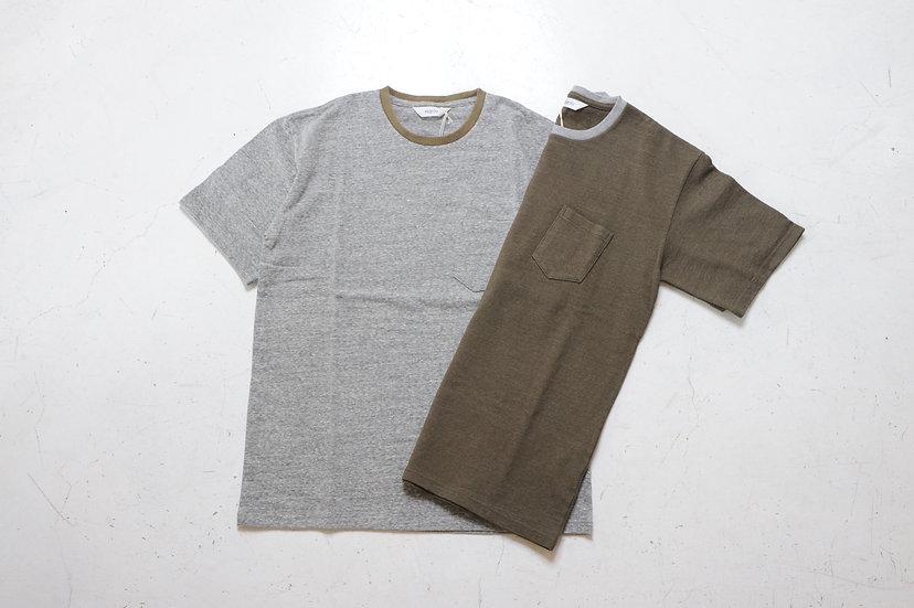 FUJITO/WF1-C30/C/N pocket T-shirt