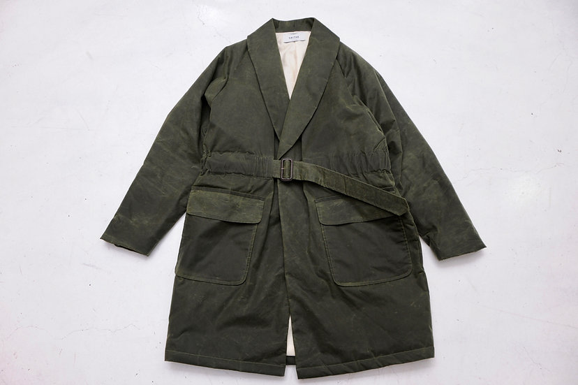 UNITUS/UTSFW-J20/wax coat