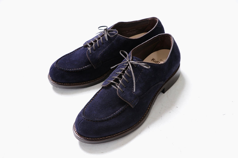 RUTT SHOES/SPLIT V TIP SUEDE