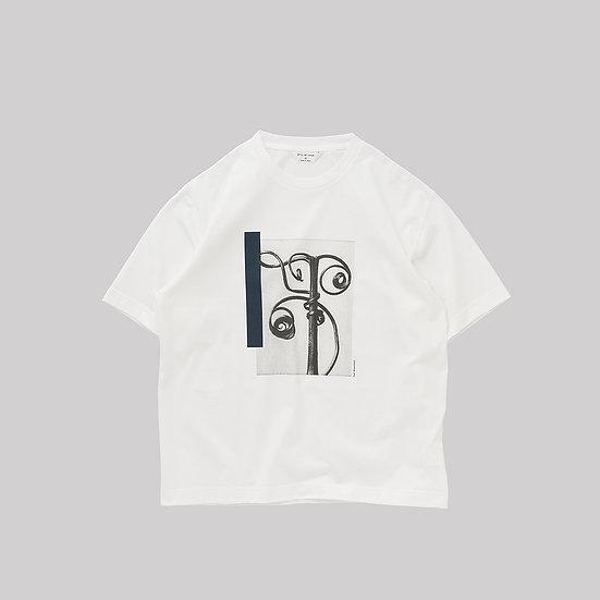 STILL BY HAND/CS04212/フォトプリントT-Shirt