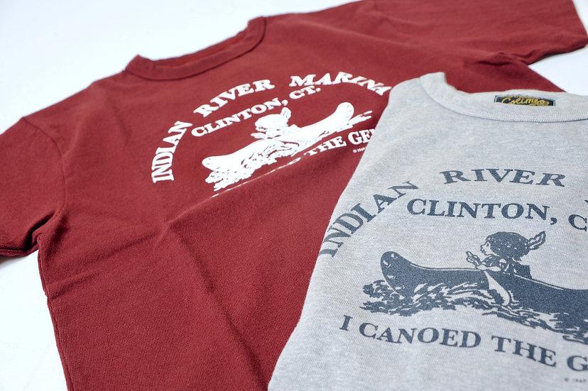 COLIMBO/ZU-0411/INDAN RIVERプリントTEEシャツ