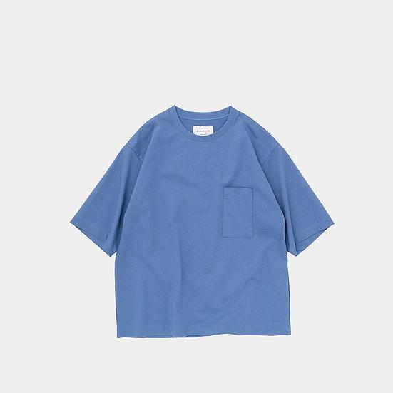 STILL BY HAND/CS02212/2/5 Sleeve Pocket T-Shirts