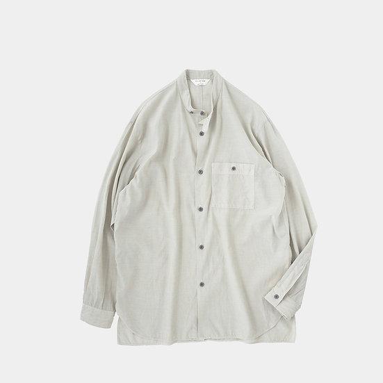 STILL BY HAND/SH06211/バンドカラーシャツ