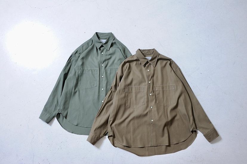 UNITUS/UTSFW20-S02/Stiched Work Shirt