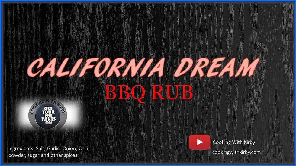 California Dream - Signature BBQ Seasoning