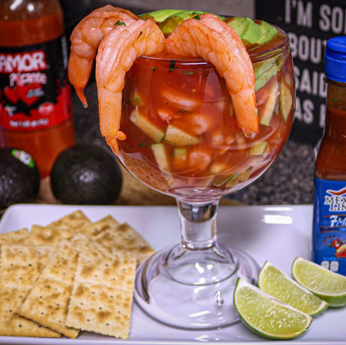 Mexican Shrimp Cocktail - Coctel de Camaron