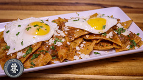Chilaquiles - Chilaquiles Rojo