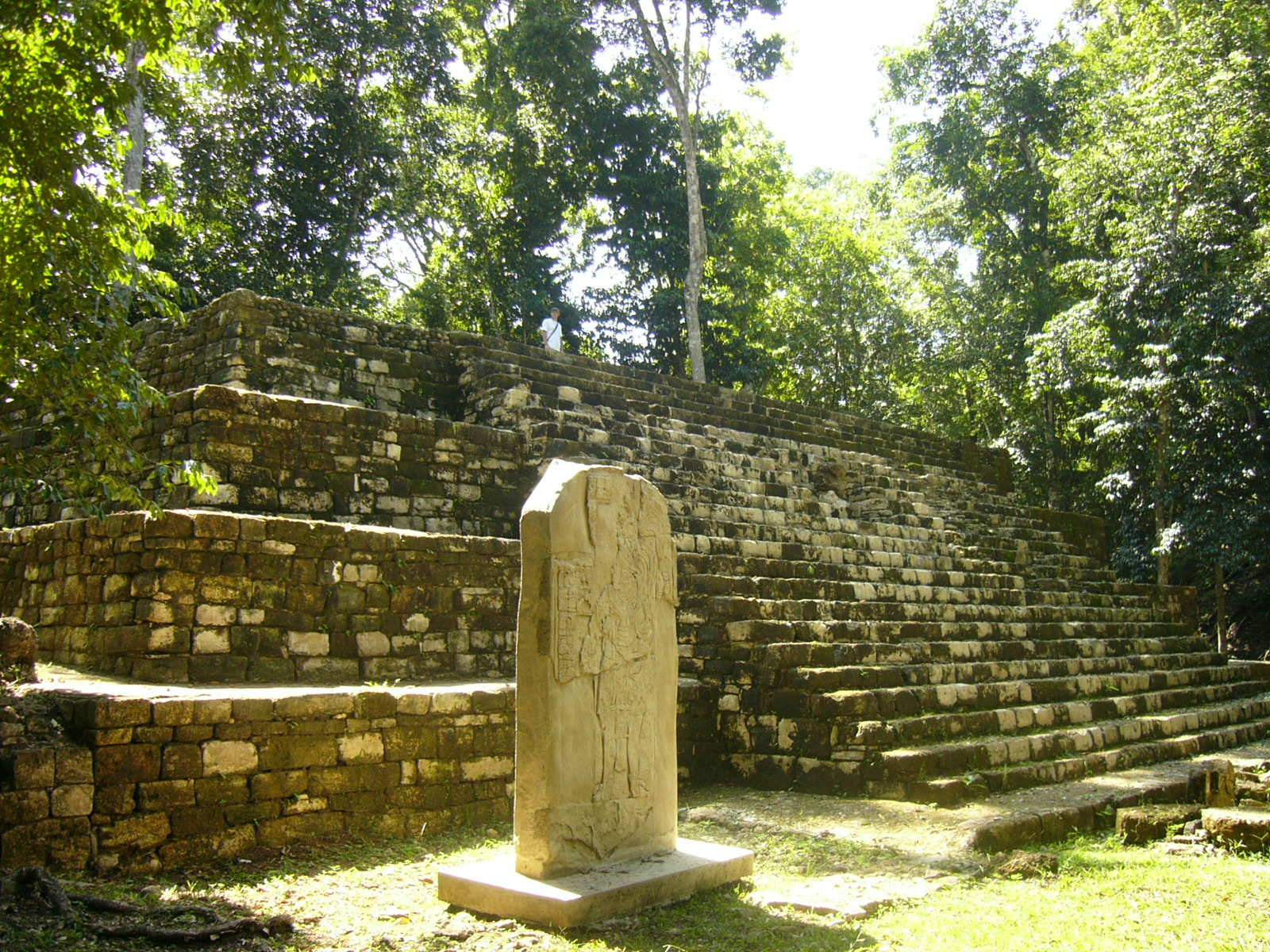 Aguateca-plaza