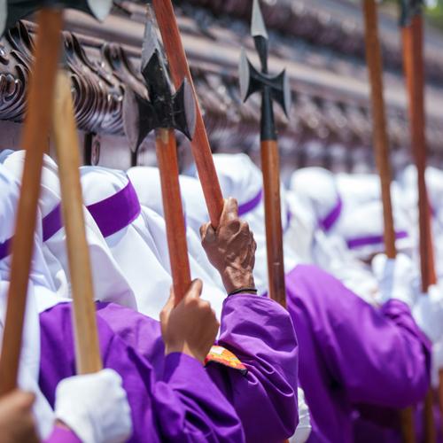 Procession in Antigua
