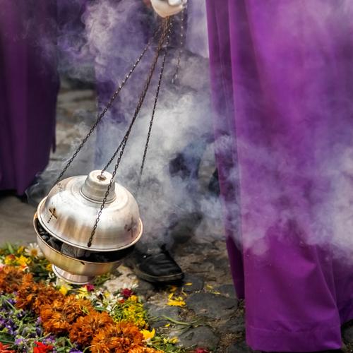 Incense in a procession