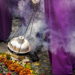 Incense in a procession