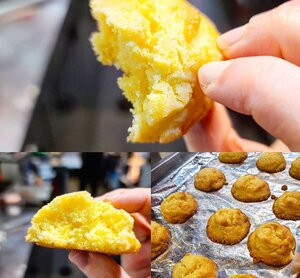 Recipe: Buttery Sweet Corn Cookies Instructions