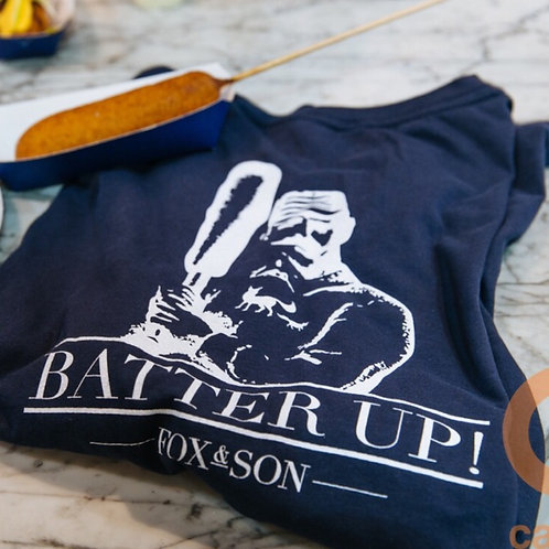 "Fox & Son ""Batter Up!"" T-Shirt - Please Select if for Shipping or Pick Up"
