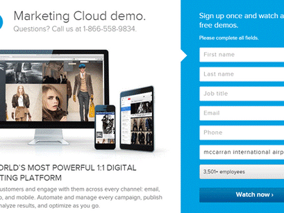 Landing Page Design – 10 Ways To Quickly Improve Conversion