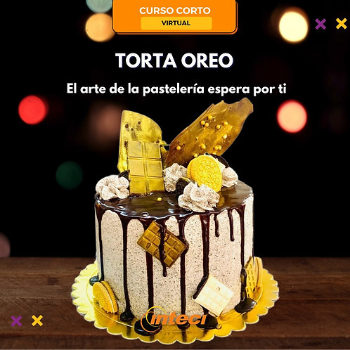 Torta Oreo (Curso Virtual)