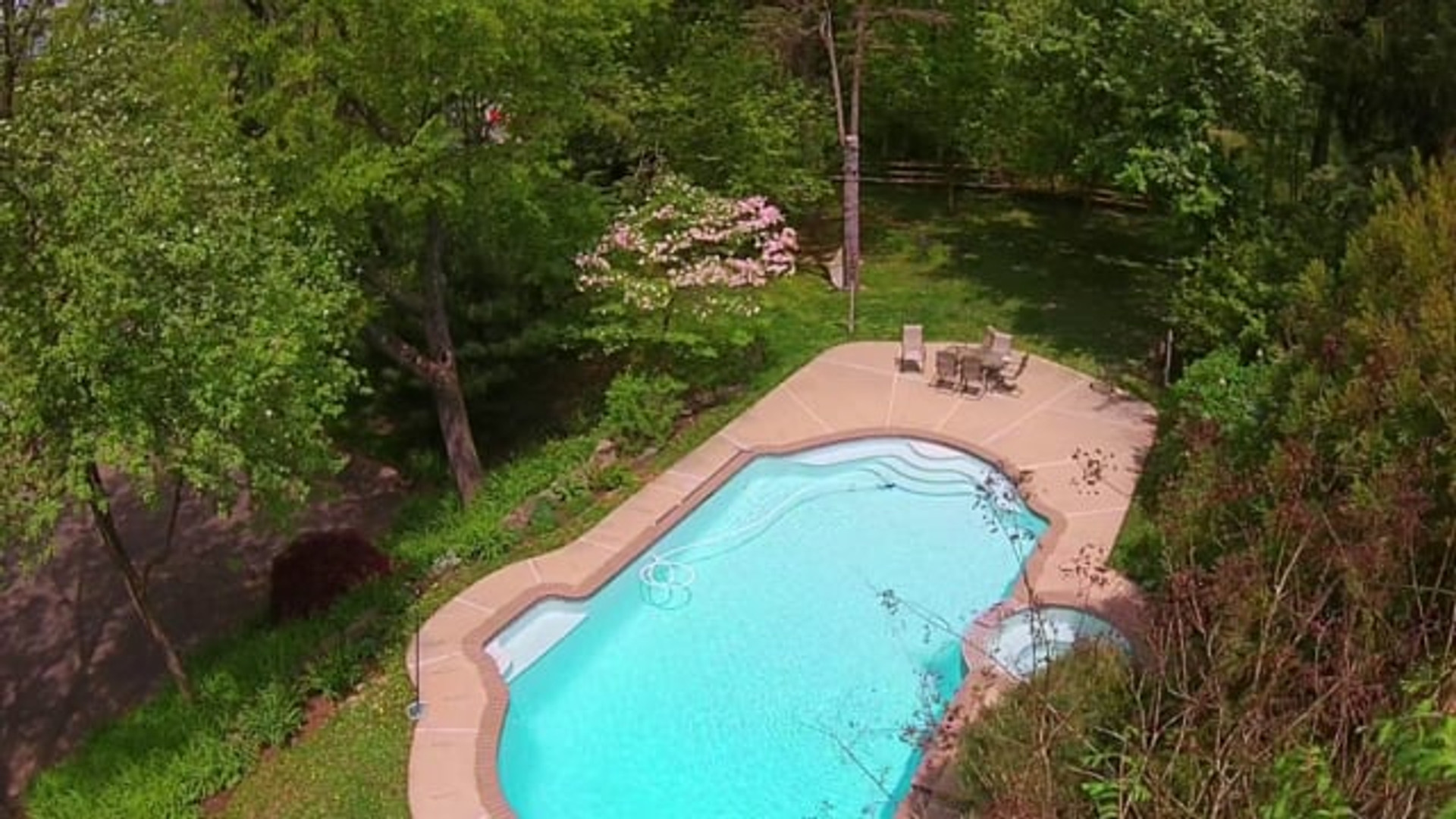 Drone Orchard Estate Video
